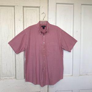 Brooks Brothers short sleeve 100% cotton shirt